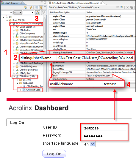 Using an External Directory Service to Authenticate Users